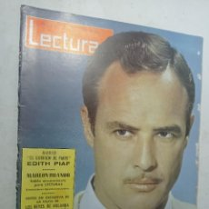 Coleccionismo de Revistas: REVISTA LECTURAS NÚMERO 600 AÑO 1963 MURIÓ EDITH PIAF MARLON BRANDO FARAH DIBA AMADEO DE AOSTA. Lote 268134194