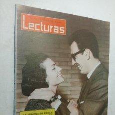 Coleccionismo de Revistas: REVISTA LECTURAS 566 AÑO 1963 CARMEN SEVILLA Y AUGUSTO ALGUERO SOFÍA LOREN PAUL ANKA PAOLA BÉLGICA. Lote 268143849
