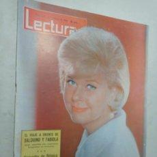Coleccionismo de Revistas: REVISTA LECTURAS 615 AÑO 1964 BALDUINO Y FABIOLA ALEJANDRO DE BÉLGICA DORIS DAY EN PORTADA. Lote 268156314