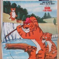Coleccionismo de Revistas: RECORTE REVISTA LECTURAS N.º 1464 1980 PÓSTER CENTRAL. MISHA, EL OSO DE MOSCÚ. TRAGON Y SUS PADRES. Lote 270536693