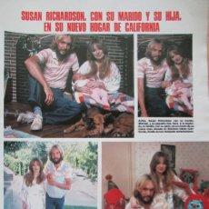 Coleccionismo de Revistas: RECORTE REVISTA LECTURAS N.º 1464 1980 SUSAN RICHARDSON. JUANJO MENÉNDEZ, JESÚS PUENTE. Lote 270537228