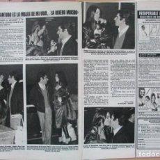 Coleccionismo de Revistas: RECORTE REVISTA LECTURAS N.º 1464 1980 PEDRO RUIZ, MARÍA JOSÉ CANTUDO.. Lote 270537418