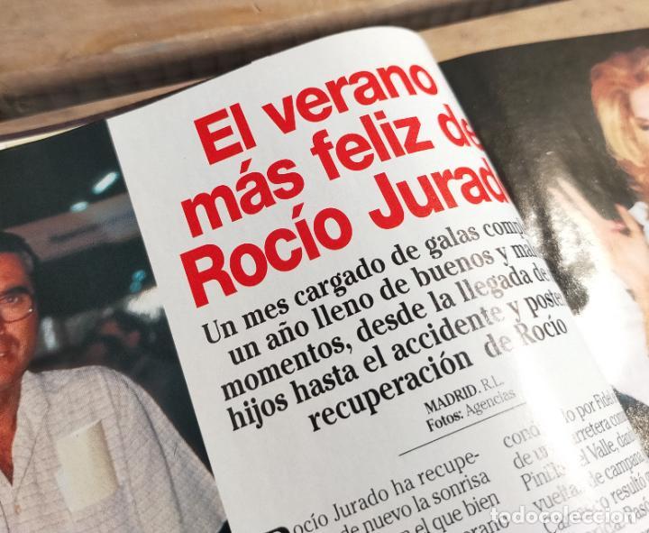 Coleccionismo de Revistas: LECTURAS 2524 2.000 - NORMA DUVAL - ROMINA POWER - ISMAEL GH - ROCIO JURADO Y MAS - Foto 7 - 270984443