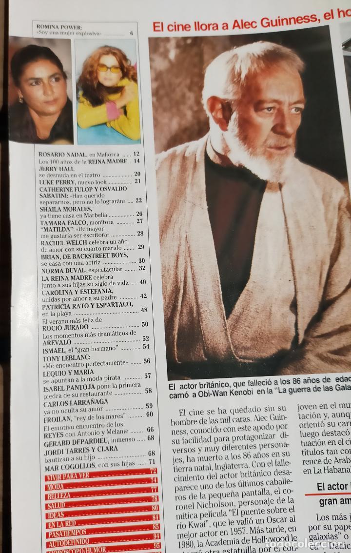 Coleccionismo de Revistas: LECTURAS 2524 2.000 - NORMA DUVAL - ROMINA POWER - ISMAEL GH - ROCIO JURADO Y MAS - Foto 11 - 270984443