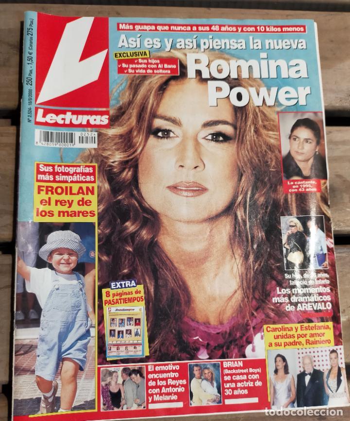 LECTURAS 2524 2.000 - NORMA DUVAL - ROMINA POWER - ISMAEL GH - ROCIO JURADO Y MAS (Coleccionismo - Revistas y Periódicos Modernos (a partir de 1.940) - Revista Lecturas)