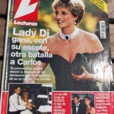 Coleccionismo de Revistas: LECTURAS 2206 - 1.994- ROCIO DURCAL - PENELOPE CRUZ - JIMMY GIMENEZ ARNAU - BIBI ANDERSEN Y MAS. Lote 271708258