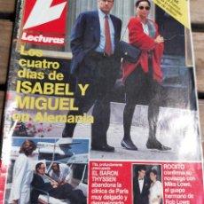 Coleccionismo de Revistas: LECTURAS 2204 - 1.994- ROCIITO - MASSIEL - CARMEN SEVILLA - NORMA DUVAL - MARTA SANCHEZ Y MAS. Lote 271709998