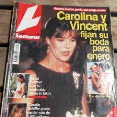 Coleccionismo de Revistas: LECTURAS 2161 - 1.993- MANOLO ESCOBAR - AZNAR - JORDI HURTADO - MARTA SANCHEZ - CLAUDIA SHIFFER MAS. Lote 271710748