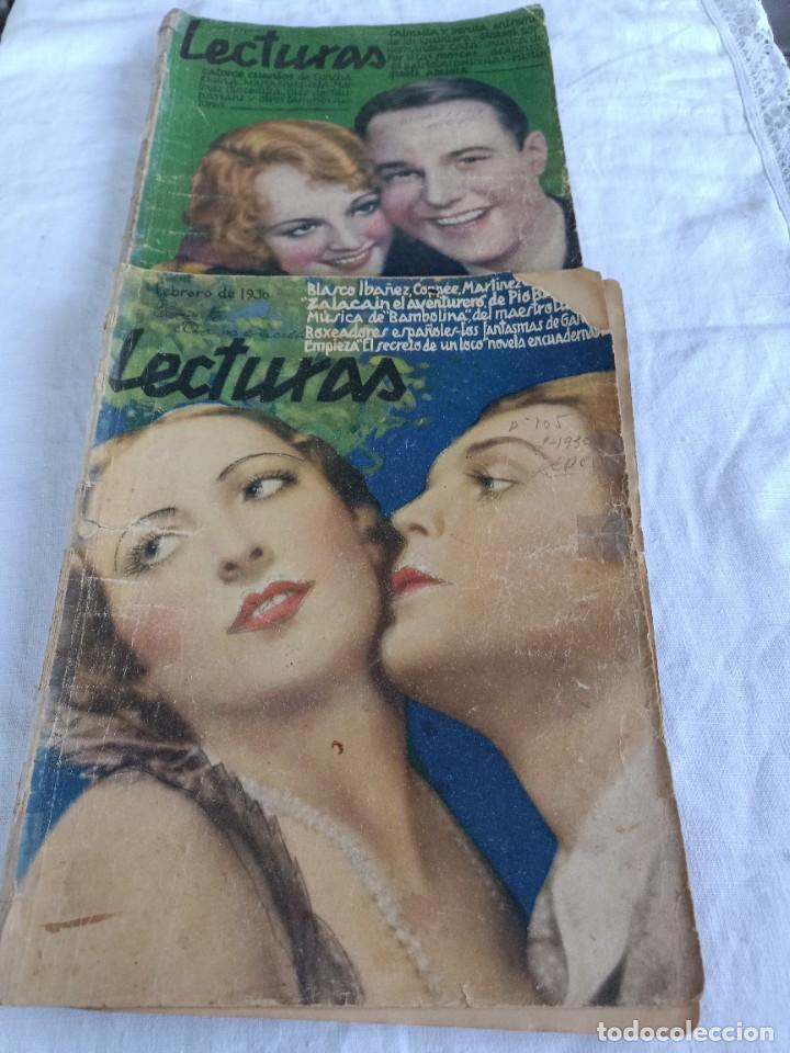 REVISTAS LECTURAS DE 1930 (Coleccionismo - Revistas y Periódicos Modernos (a partir de 1.940) - Revista Lecturas)