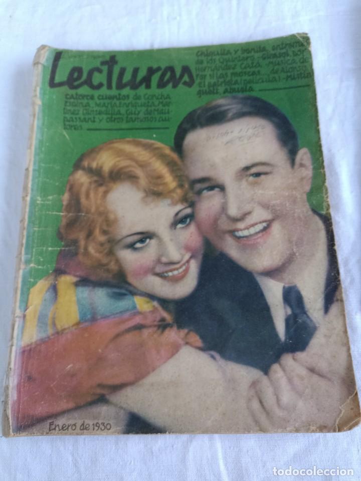 Coleccionismo de Revistas: Revistas lecturas de 1930 - Foto 2 - 276554198
