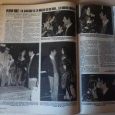 Coleccionismo de Revistas: RECORTE CLIPPING DE PEDRO RUIZ Y MARIA JOSE CANTUDO REVISTA LECTURAS Nº 1464 PAG. 82 L52. Lote 276998458