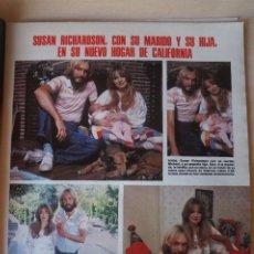 Coleccionismo de Revistas: RECORTE CLIPPING DE SUSAN RICHARDSON REVISTA LECTURAS Nº 1464 PAG. 59 L52. Lote 276998838