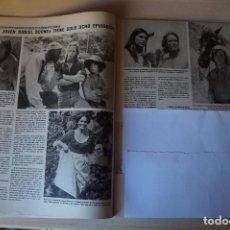 Coleccionismo de Revistas: RECORTE CLIPPING DE DANIEL BOONE REVISTA LECTURAS Nº 1464 PAG. 32 Y 33 L52. Lote 276999168