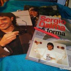 Coleccionismo de Revistas: RECORTE : SERGIO DALMA, EN FORMA. LECTURAS, FBRO 1993(#). Lote 277059938