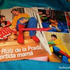 Coleccionismo de Revistas: RECORTE : AGATHA RUIZ DE LA PRADA, DIVERTIDA MAMA. LECTURAS, FBRO 1993(#). Lote 277061808
