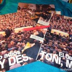 Coleccionismo de Revistas: RECORTE : DESCONSOLADO ADIOS A TOÑI, MIRIAM Y DESIREE, EN ALCASSER. LECTURAS, FBRO 1993(#). Lote 277062383