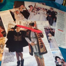Coleccionismo de Revistas: RECORTE : CARMEN CERVERA, EN LA BODA DE LA HIJA DEL BARON THYSSEN. LECTURAS, FBRO 1993(#). Lote 277063033