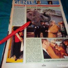 Coleccionismo de Revistas: RECORTE : EUGENIA SANTIAGO, MISS ESPAÑA, PRIMER ACTO OFICIAL. LECTURAS, FBRO 1993(#). Lote 277063248