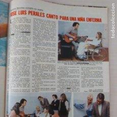 Coleccionismo de Revistas: RECORTE CLIPPING DE JOSE LUIS PERALES LECTURAS Nº 1460 PAG. 101 L53. Lote 277701913
