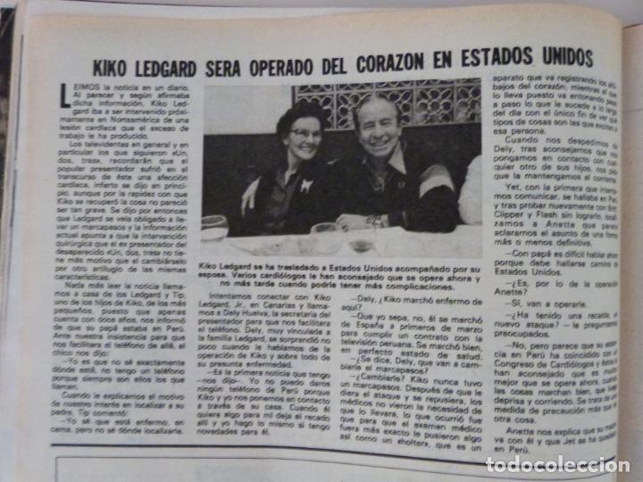 RECORTE CLIPPING DE KIKO LEDGARD DEL UN DOS TRES LECTURAS Nº 1460 PAG. 90 L53 (Coleccionismo - Revistas y Periódicos Modernos (a partir de 1.940) - Revista Lecturas)