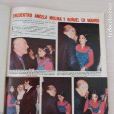 Coleccionismo de Revistas: RECORTE CLIPPING DE ANGELA MOLINA Y LUIS BUÑUEL LECTURAS Nº 1460 PAG. 85 L53. Lote 277702368