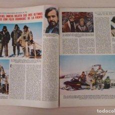 Coleccionismo de Revistas: RECORTE CLIPPING DE RAFAEL ONIEVA Y FELIX RODRIGUEZ DE LA FUENTE LECTURAS Nº 1460 PAG. 46 AL 51 L53. Lote 277702953