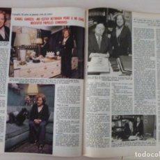 Coleccionismo de Revistas: RECORTE CLIPPING DE ISABEL GARCES Y ARTURO SERRANO REVISTA LECTURAS Nº 1459 PAG. 88 Y 89 L53. Lote 277706353