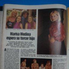 Coleccionismo de Revistas: RECORTE CLIPPING DE MARISA MEDINA LOCUTORA DE RADIO REVISTA LECTURAS Nº 1597 PAG. 42 L55. Lote 279517253
