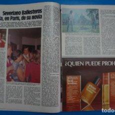 Coleccionismo de Revistas: RECORTE CLIPPING DE SEVERIANO BALLESTEROS GOLFISTA REVISTA LECTURAS Nº 1597 PAG. 40 L55. Lote 279517348