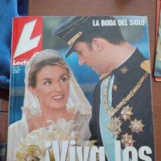 Coleccionismo de Revistas: REVISTA LECTURAS DE LA BODA DE FELIPE & LETIZIA. Lote 280104678