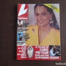 Colecionismo de Revistas: REVISTA LECTURAS, Nº 2091, 01-05-92. ISABEL PANTOJA VISITÓ A SU HIZOA DE NAZARENO.. Lote 280591633