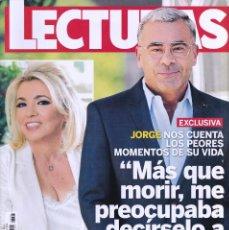 Coleccionismo de Revistas: REVISTA LECTURAS NUMERO 3497 JORGE JAVIER VÁZQUEZ. Lote 280615308