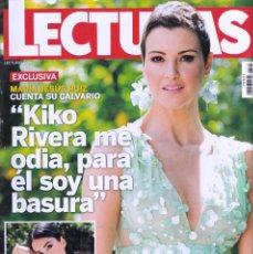 Coleccionismo de Revistas: REVISTA LECTURAS NUMERO 3500 MARÍA JESÚS RUIZ. Lote 280615438