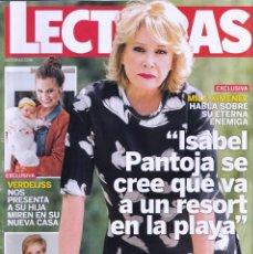 Coleccionismo de Revistas: REVISTA LECTURAS NUMERO 3501 MILA XIMÉNEZ. Lote 280615493