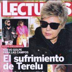 Coleccionismo de Revistas: REVISTA LECTURAS NUMERO 3502 TERELU. Lote 280615548