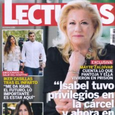 Coleccionismo de Revistas: REVISTA LECTURAS NUMERO 3503 MAYTE ZALDÍVAR. Lote 280615603