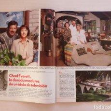 Collectionnisme de Magazines: RECORTE CLIPPING DE CHAD EVERETT ACTOR DR. CANNON REVISTA LECTURAS Nº 2012 PAG. 34 AL 40 L56. Lote 282912563
