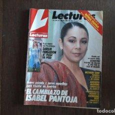 Colecionismo de Revistas: REVISTA LECTURAS, Nº 1886, 1 DE JUNIO DE 1988, EL CAMBIAZO DE ISABEL PANTOJA.. Lote 283844748