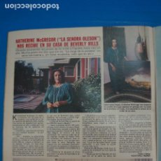 Collectionnisme de Magazines: RECORTE CLIPPING DE KATHERINE MCGREGOR LA SEÑORA OLESON REVISTA LECTURAS Nº 1505 PAG. 42 L57. Lote 284244313