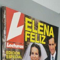 Coleccionismo de Revistas: REVISTA LECTURAS - Nº 2243 - EN PORTADA INFANTA ELENA. Lote 285295518