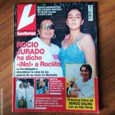 Coleccionismo de Revistas: REVISTA LECTURAS N. 2265 01/09/95 ROCÍO JURADO, MARTA CHAVARRI, SERGIO DALMA, THYSSEN. Lote 286512673
