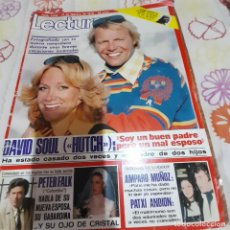 "Coleccionismo de Revistas: REVISTA LECTURAS NUMERO 1348 DAVID SOUL ""HUTCH"". Lote 286569603"