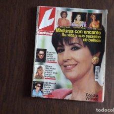Collezionismo di Riviste: REVISTA LECTURAS, Nº 2144, 7 MAYO 1993. MADURAS CON ENCANTO, CONCHA VELASCO.. Lote 286886613