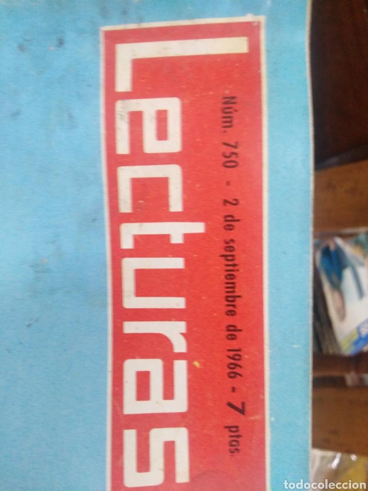 Coleccionismo de Revistas: REVISTA LECTURAS 2 DE SEPTIEMBRE 1966 N°750-CAROLINA KENNEDY/VACACIONES INTERRUMPIDAS DE MARISOL - Foto 2 - 287443223