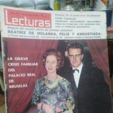 Coleccionismo de Revistas: REVISTA LECTURAS 4 DE NOVIEMBRE 1966 N°759-. Lote 287444398