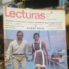 Coleccionismo de Revistas: REVISTA LECTURAS 4 DE OCTUBRE 1968 N°859-SOFIA LOREN/CRISTÓBAL MARTÍNEZ BORDIU/BEATRIZ DE HOLANDA. Lote 287449773