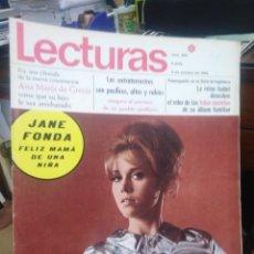 Coleccionismo de Revistas: REVISTA LECTURAS 11 DE OCTUBRE 1968 N°860-JANE FONDA/ANA MARIA DE GRECIA/. Lote 287450183