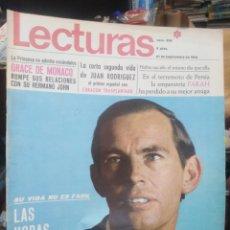 Coleccionismo de Revistas: REVISTA LECTURAS 27 DE SEPTIEMBRE 1968 N°858-LAS HORAS DRAMÁTICAS DEL DOCTOR BARNARD/GRACE DE MONACO. Lote 287451118