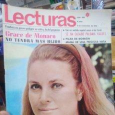Coleccionismo de Revistas: REVISTA LECTURAS 8 DE NOVIEMBRE 1968 N°864-GRACE DE MONACO NO TENDRÁ MÁS HIJOS/SE CASA PALOMA VALDES. Lote 287452203