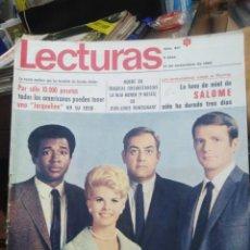 Coleccionismo de Revistas: REVISTA LECTURAS 14 DE NOVIEMBRE 1969 N°917-LA LUNA DE MIEL DE SALOME/SE HA CASADO MARK(DON MITCHELL. Lote 287462728